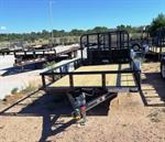 6X12 UTILITY TRAILER W/RAMP GATE