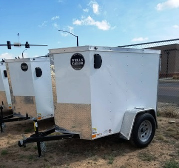 4x6 Enclosed Trailer >> Wells Cargo 4x6 Enclosed Trailer
